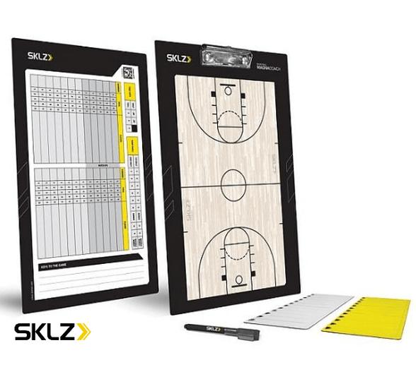 לוח טקטי למאמן כדורסל - BASKETBALL MAGNACOACH, , large image number null