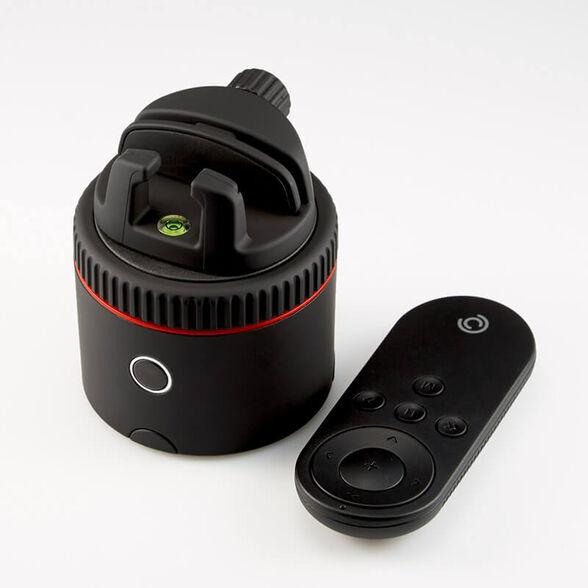 מעמד-חצובה מסתובב לטלפון הנייד Pivo עם שלט רחוק ואפליקציה חכמים דגם Pod Red, , large image number null