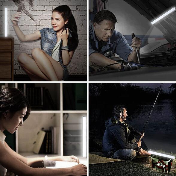 """מנורת לד עוצמתיות עם חיישן תנועה להדלקה אוטומטית ב3 גדלים לבחירה  22 ס""""מ , 30 ס""""מ , 50 ס""""מ   מזהות תנועה במרחק עד 3 מטר, , large image number null"""