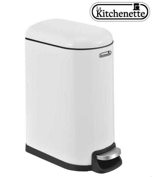 פח דוושה למטבח טריקה שקטה בנפח 40 ליטר בגימור נירוסטה La Kitchenette, , large image number null