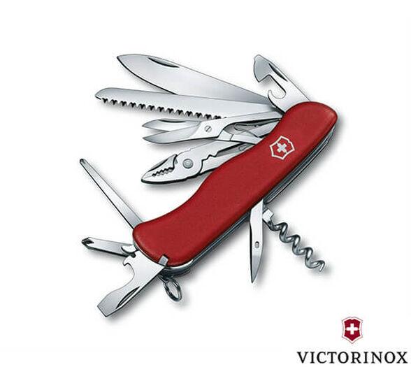 אולר שוויצרי מקורי הכולל כלי עבודה רבים ושימושיים של VICTORINOX דגם Hercules בעל 18 פונקציות, , large image number null