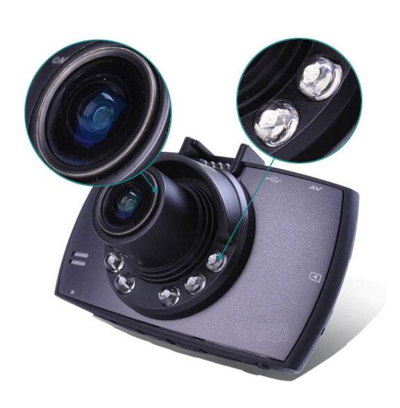 לזמן מוגבל! מצלמת דרך לרכב מבית GT עם מסך Ful HD ענק ותאורת לילה, כולל הקלטה בעת זיהוי תנועה – תפריט בעברית! , , large image number null