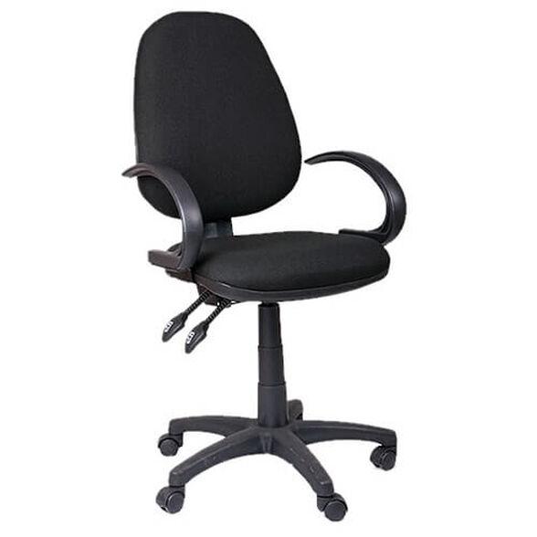 כסא משרדי מתאים לעבודה מאומצת מול מחשב מבד המונע הזעה, , large image number null