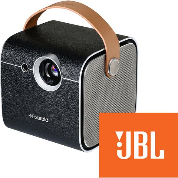 מקרן איכותי המשולב עם רמקול שמע JBL מבית Polaroid דגם VP07 , , large image number null