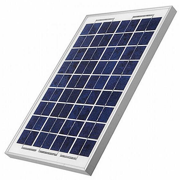 פאנל סולארי מקצועי בהספק 30 וואט ליצירת חשמל מאנרגיית השמש, עם מסגרת אלומיניום וזכוכית - עמיד בכל מזג האוויר, , large image number null