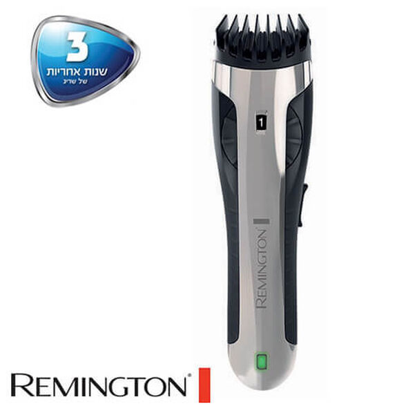 מכשיר ייחודי וחדשני להסרת שיער בכל חלקי הגוף מבית REMINGTON דגם BHT2000A ניתן להשתמש על גוף יבש או בעת המקלחת -מתצוגה , , large image number null