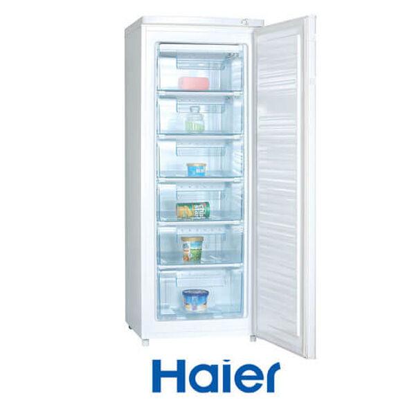 מקפיא 6 מגירות De Frost בנפח 180 ליטר ברוטו מבית HAIER דגם HUF200A - גימור לבן  , , large image number null