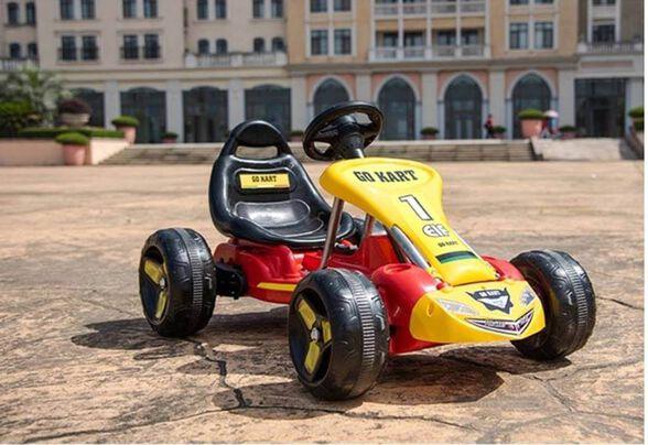 """מכונית פדלים   קארטינג GOKART לילדים ברמת גימור גבוהה ביותר   מאושר ע""""י מכון התקנים, , large image number null"""