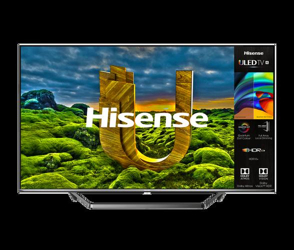 """טלוויזיה 65"""" ULED SMART 4K HDR בטכנולגיית  Quantom Dot LED  תמיכה ב- Dolby Atmos עם PCI אינדקס החלקת תנועה  2500Hz מבית HISENSE דגם 65U7QFIL  , , large image number null"""