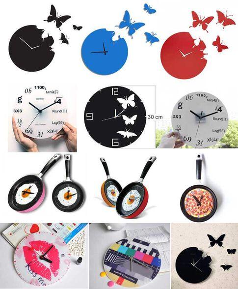 מולטי שעוני קיר במבחר דגמים מעוצבים ויפים לבית, , large image number null