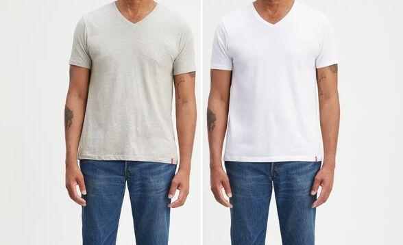 שתי חולצות LEVIS לגבר, , large image number null