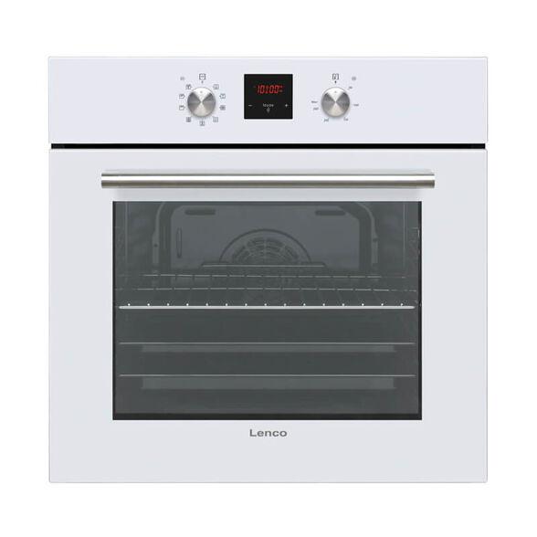 תנור אפיה בנוי דיגטלי 65 ליטר, 8 תוכניות אפיה, טיימר דיגטלי TOUCH בגימור לבן מבית LENCO דגם LBID6510VWH , , large image number null