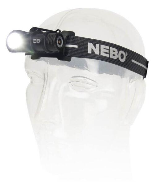 פנס ראש עצמתי נטען REBEL 600 מבית NEBO | עוצמת תאורה של 600 לומנס מאפשר תאורה למרחק של עד 90 מטר, , large image number null