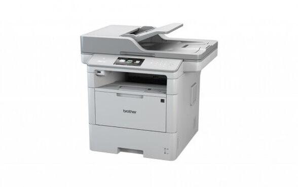 מדפסת לייזר שחור-לבן לקבוצות עבודה דגם MFC-L6800DW מבית BROTHER הכוללת: העתקה, סריקה ופקס המדפסת המשולבת למשרד עמוס העבודה , , large image number null