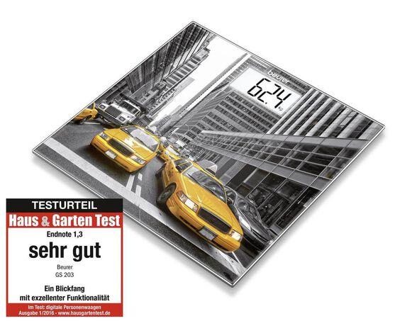 משקל זכוכית למקלחת בהדפסים שונים - Beurer_ניו יורק, , large image number null