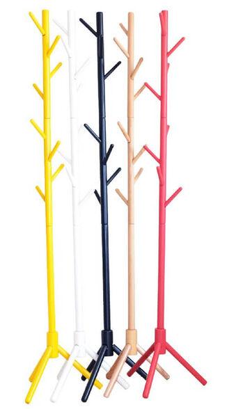 מעמד מתלה בגדים ומעילים מעץ מלא במגוון צבעים לבחירה מבית TUDO DESIGN דגם 1201, , large image number null
