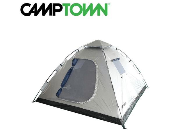 אוהל פתיחה מהירה INSTANT ל- 4 אנשים CAMPTOWN, , large image number null