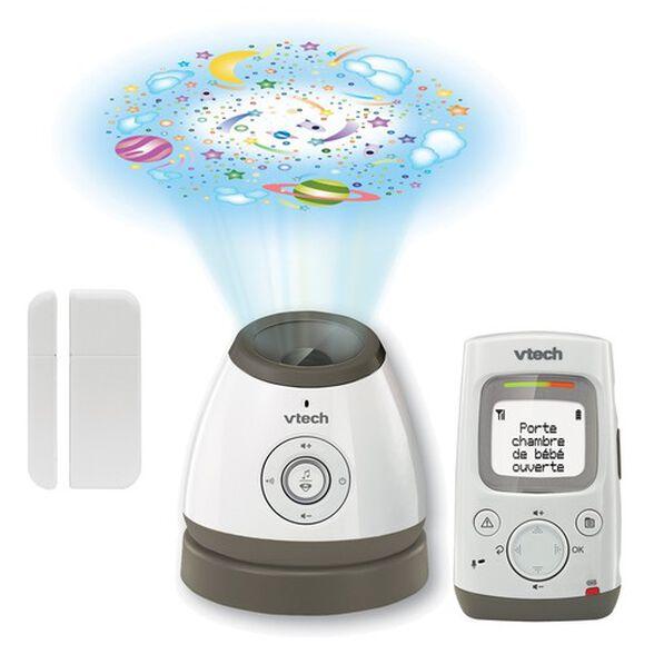 אינטרקום לתינוק דו כיווני BM5000 עם מד טמפרטורה ומקרן תקרה מנגן, , large image number null