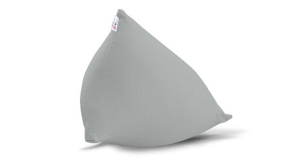 יוגיפוף פרמידה מיני אפור בהיר חדש , מיוצר משתי שכבות של בד נמתח ואיכותי מבית MILEGA, , large image number null
