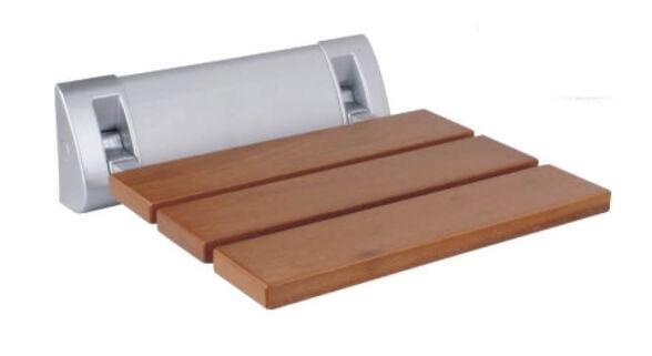 כסא מתקפל למקלחת עץ טיק מלא | אחריות 3 שנים, , large image number null