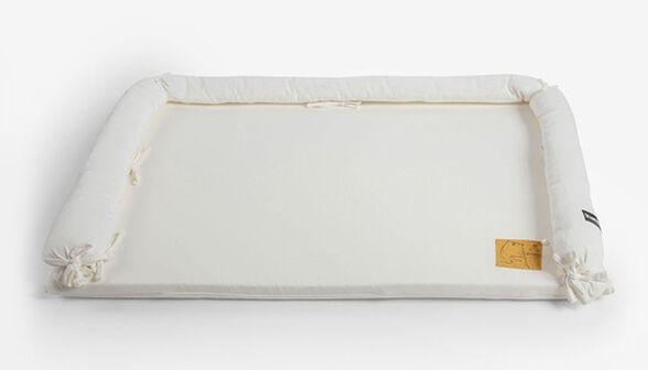 משטח החתלה לשידה עם כיסוי 100% כותנה ג'רסי - שמנת, , large image number null