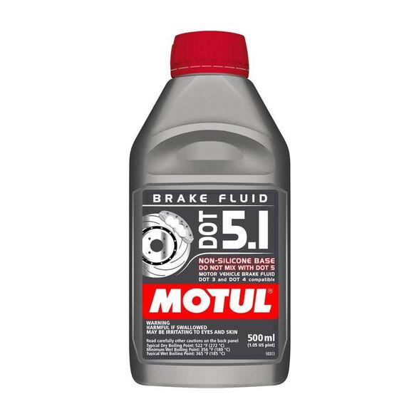 שמן בלמים DOT 5.1 כמות 0.5 ליטר MOTUL, , large image number null
