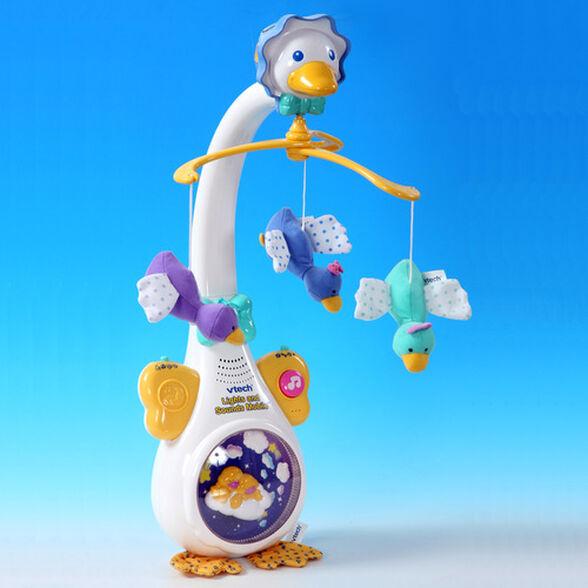 מובייל אווז לתינוק עם חיישן זיהוי בכי ושירים בעברית, , large image number null