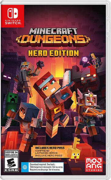משחק לקונסולת Nintendo Switch דגם Minecraft Dungeons - Hero Edition, , large image number null