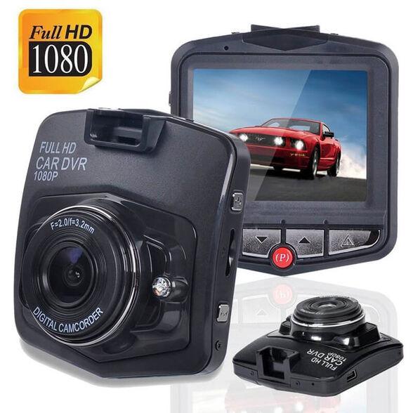 מצלמת רכב איכותית 1080P כולל צג ענק זוית צילום רחבה | מאפשרת צילום מספרי רכב באופן חד וברור , , large image number null