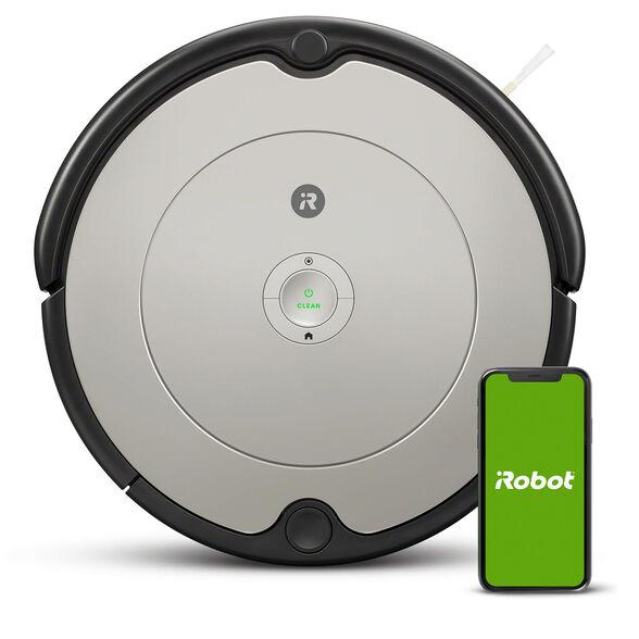 שואב אבק רובוטי iRobot 698 ניתן להפעלה בעזרת תכנות דרך האפליקציה או בלחיצת כפתור בלבד | מסיר אבק, לכלוך ושערות מכול סוגי הרצפות , , large image number null
