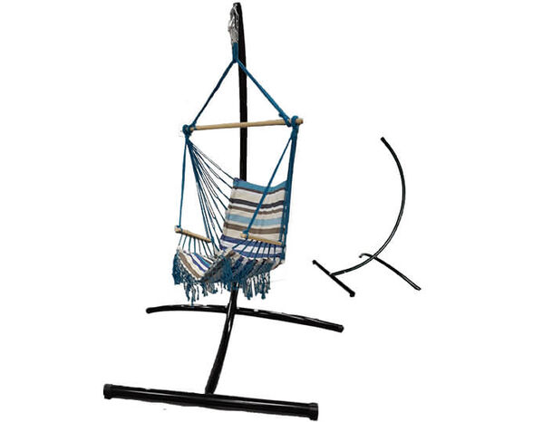 """מתקן מפואר לתליית ערסל ישיבה עשוי מתכת, עד 120 ק""""ג מבית CAMPTOWN דגם ELEGANT   מתנה ערסל תואם!!, , large image number null"""