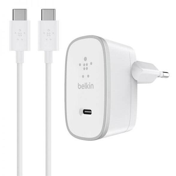 מטען קיר עם כבל USB-C ניתק מבית BELKIN, , large image number null