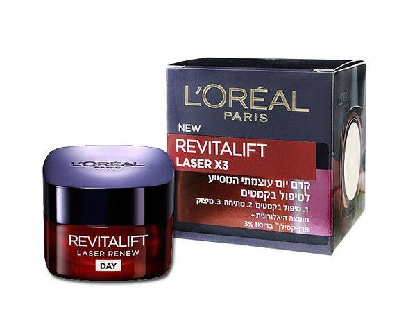 לוריאל קרם יום רויטליפט לייזר Revitalift Laser X3 Day Cream- X3, , large image number null