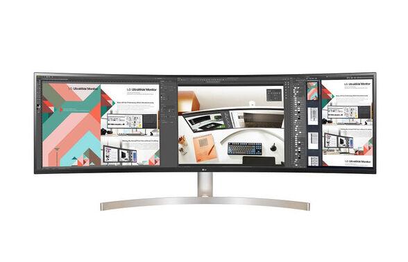 """מסך מחשב מקצועי """"49 Curved Ultra Wide Dual QHD עם פאנל IPS תוצרת LG דגם: 49WL95C-W , , large image number null"""