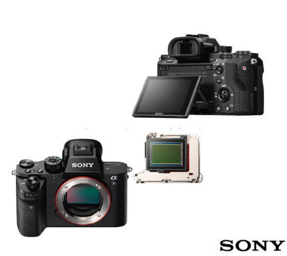 מצלמת מירורלס Full Frame SONY דגם E7SM2B תקשורת WiFi מובנית להעברת תמונות ווידאו למחשב צילום וידאו באיכות 4k  AVCHD -מתצוגה , , large image number null