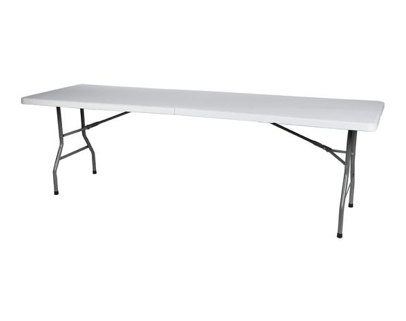 """שולחן מתקפל 2.4 מ 240/76/74 ס""""מ, , large image number null"""