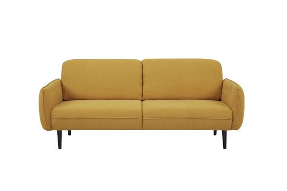 ספה תלת מושבית AMICO קומפקטית בעיצוב מעוגל ומרשים מבית URBAN_צבע חרדל, , large image number null