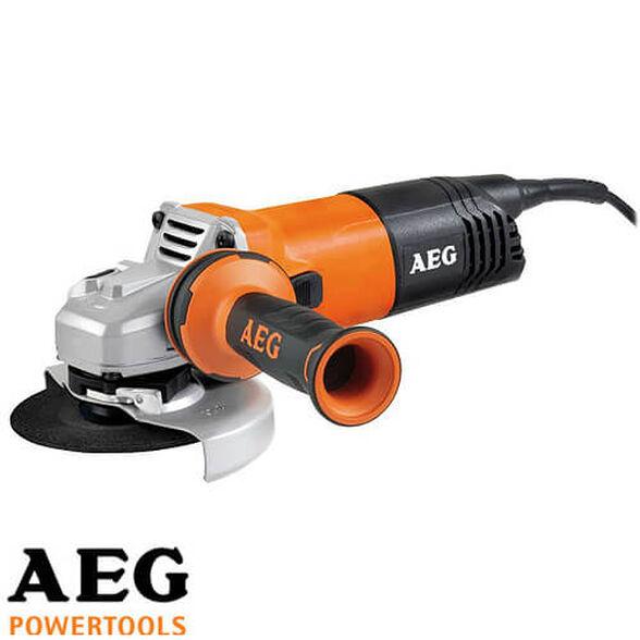 """משחזת זווית 4.5"""" בעוצמת 900W של AEG דגם WS 9-115 , , large image number null"""