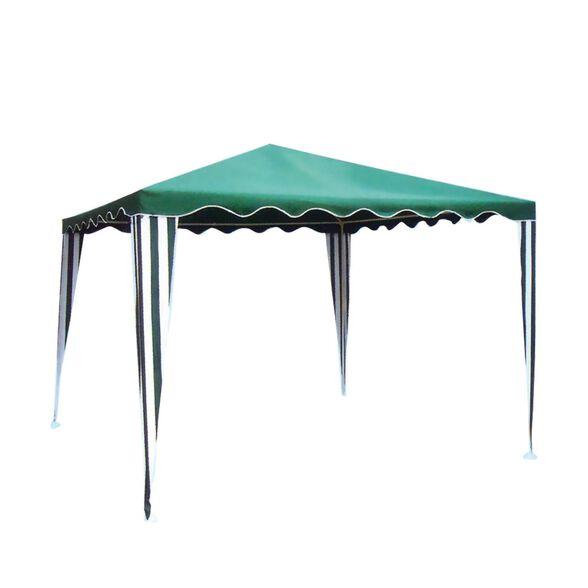 גזיבו פוליאסטר 3x3 מטר דגם עינת   אלגנטי קל משקל  ובצבע ירוק מבית Australia Camp, , large image number null