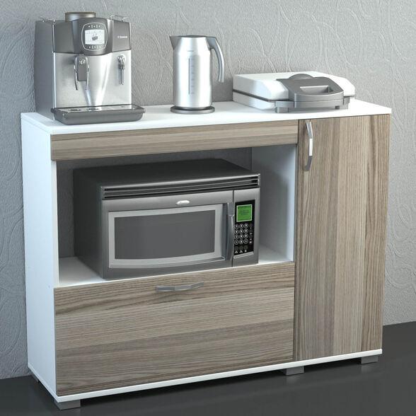 ארון שירות למטבח עם תא למיקרו דגם שרלוטה מבית GEVA DESIGN, , large image number null
