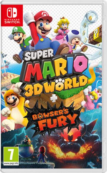 משחק לקונסולת נינטנדו Super Mario 3D World + Bowser's Fury, , large image number null