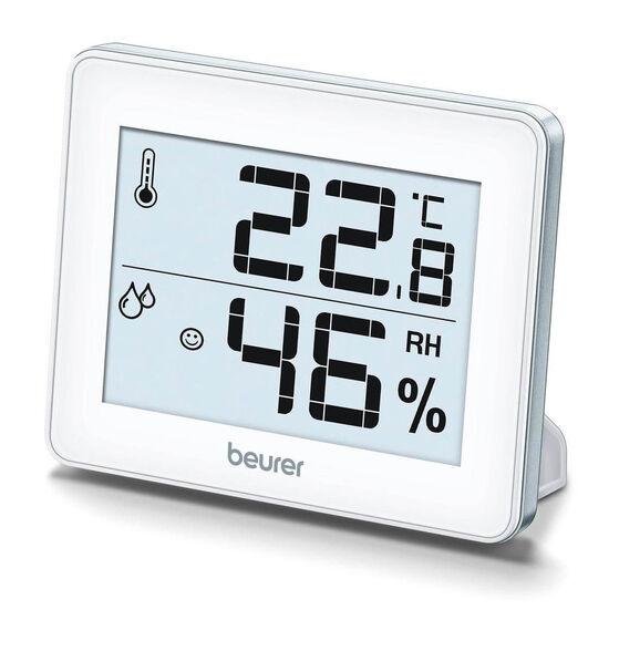 מד לחות וטמפרטורה - השגחה מושלמת על הטמפרטורה והלחות דגם HM16 מבית Beurer, , large image number null