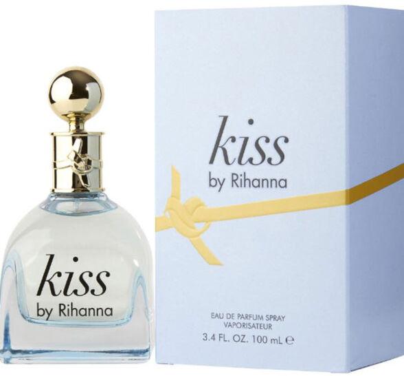 """בושם ריהנה KISS לאישה א.ד.פ 100 מ""""ל, , large image number null"""