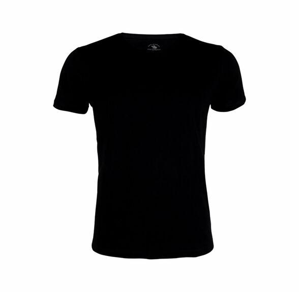 מארז חמש חולצות לגבר בצבע שחור מבית Santa Barbara, , large image number null