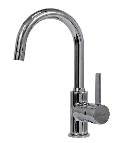 ברז קשת לחדר אמבט דגם קריסטל בעל מנגנון ספרדי SEDAL עם 7 שנות אחריות, , large image number null