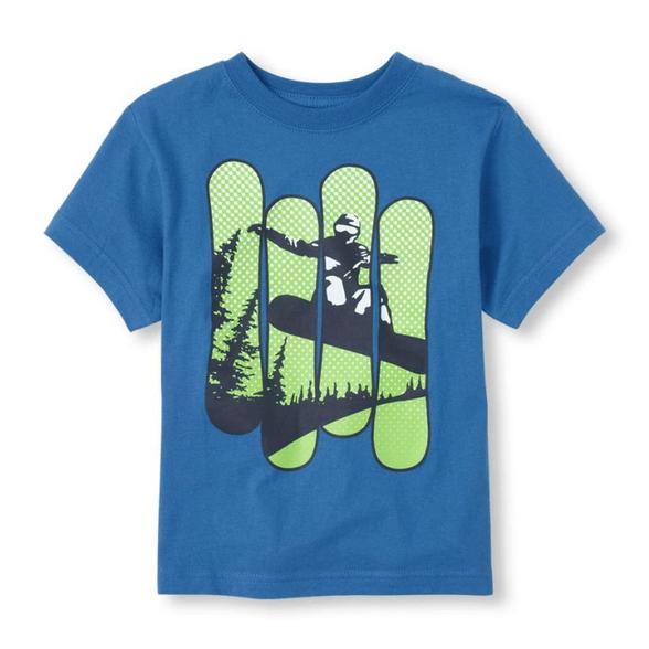 חולצה שרוול קצר The Children's Place, , large image number null