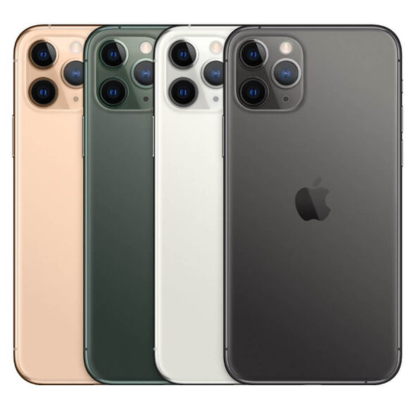 """סמארטפון Apple iPhone 11 Pro  מסך 5.8"""" נפח איחסון 256GGB זיכרון 4GB RAM  מאוקטב- שנה אחריות, , large image number null"""