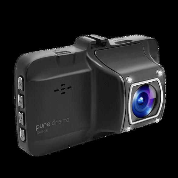 מצלמת דרך לרכב עם תאורת לילה DVR-35 , , large image number null