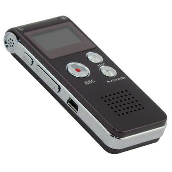 חיסול מלאי! כל הקודם זוכה! טייפ מנהלים המקליט גם שיחות טלפון נפח 8GB  כולל חיישן קול פועל על סוללת ליתיום  עד 576 שעות הקלטה  תומך בהשמעת מוסיקה , , large image number null