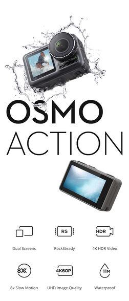 מצלמת  DJI OSMO ACTION, , large image number null